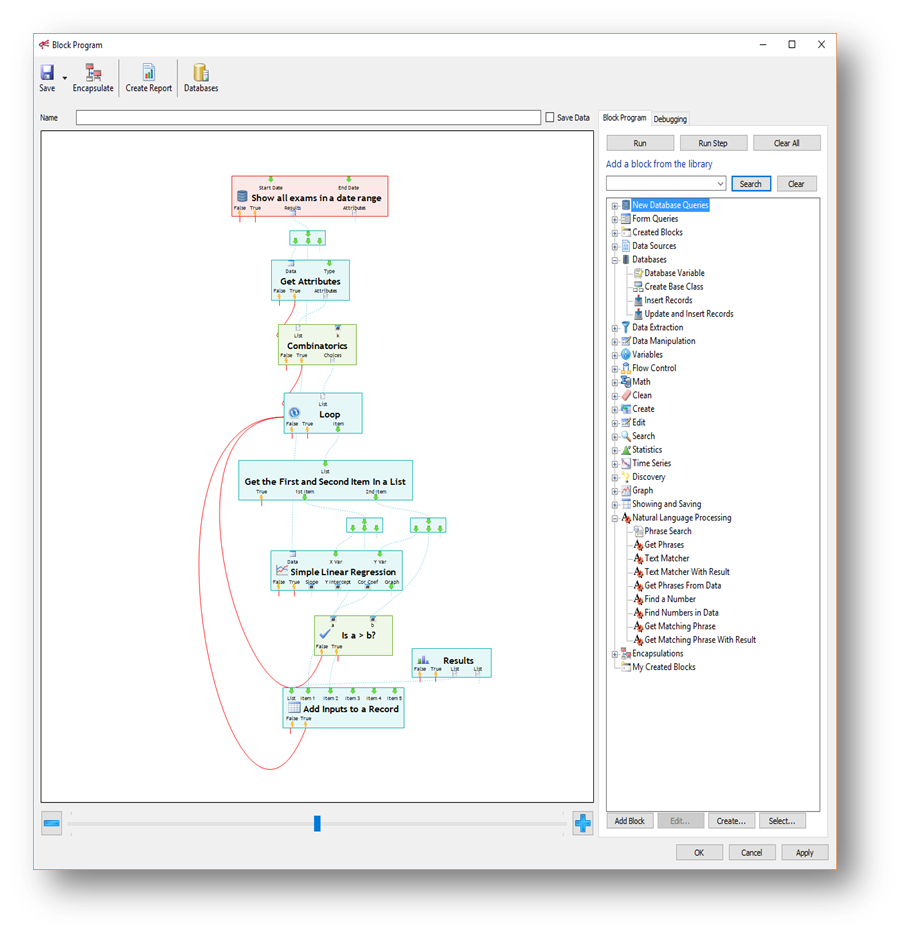 Visual Analytics Workbench