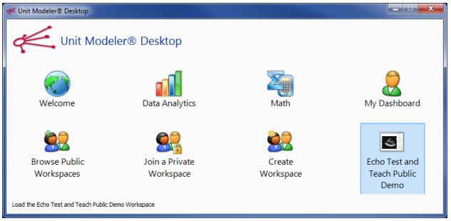 Unit Modeler Desktop for new users